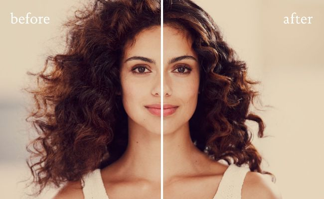 frizzy-hair-before-after