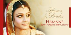 Hamna's Beauty Salon and Bridal Studio at Lahore