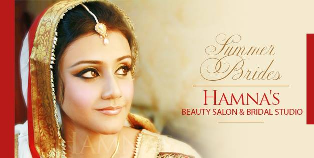 Hamna's Beauty Salon and Bridal Studio at Lahore