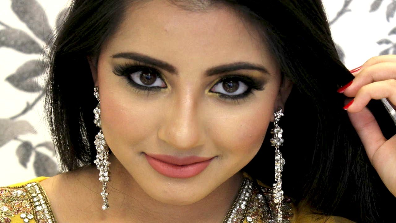 How to do Amazing Eye Makeup For Mehndi Function