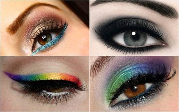 multi-color-smokey-eye-makeup-with-easy-and-simple-steps