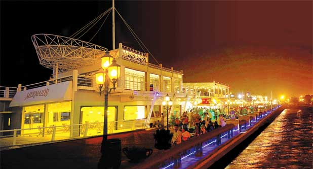 Port Guard Food Street Karachi Pakistan