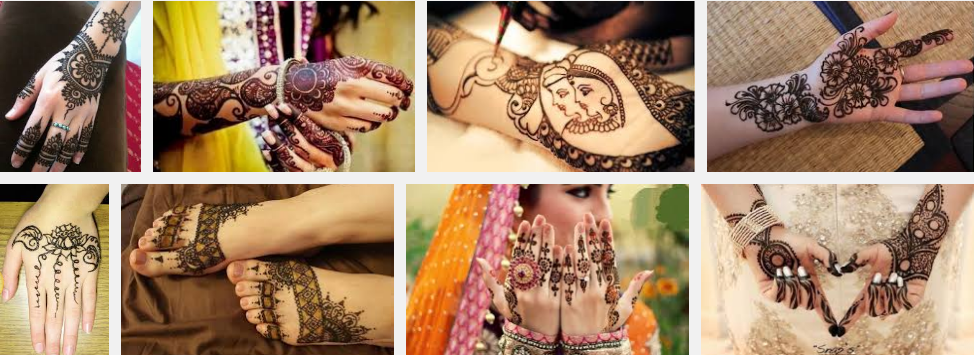 50+ Easy and simple Mehndi designs for wedding 2016