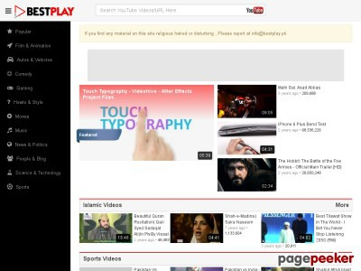 Top 10 videos sites in Pakistan