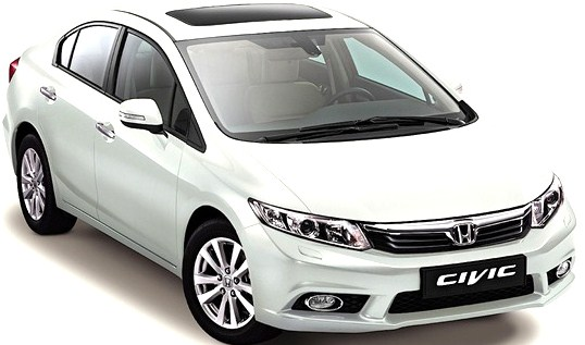 Honda Civic - Top 10 Fastest Cars
