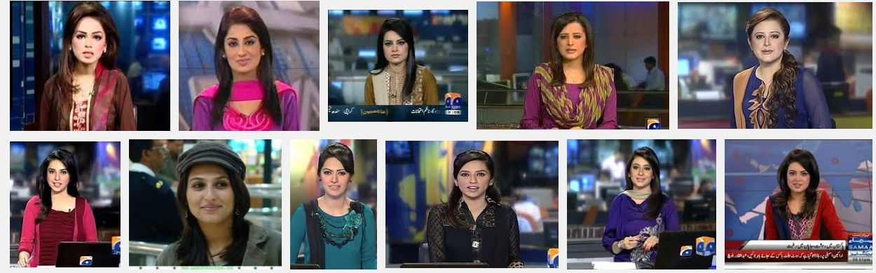 Top 10 Pakistani female News Anchors