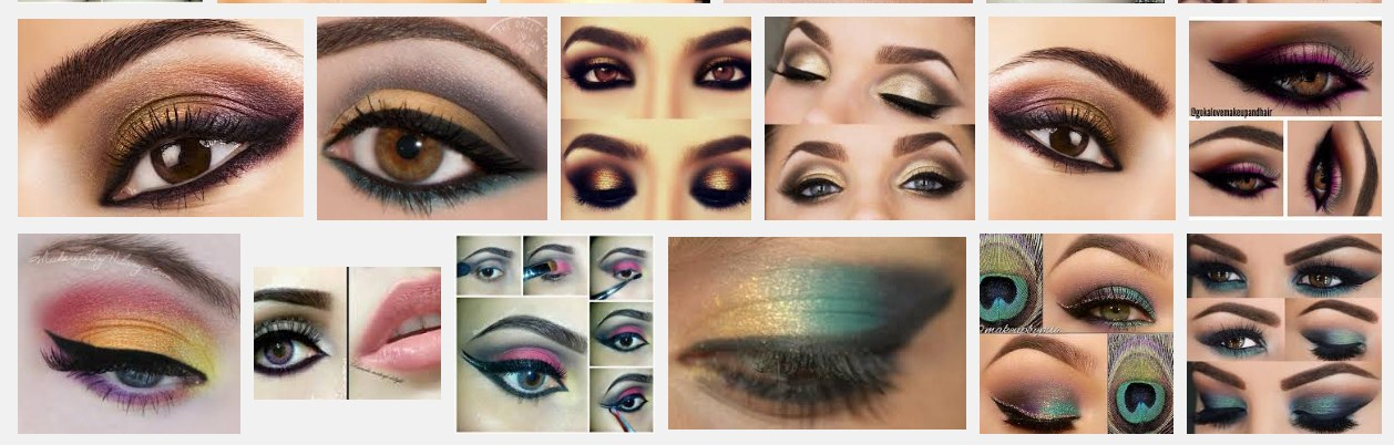 Soft and Beautiful Eye Make up for Pakistani Girls in 2016