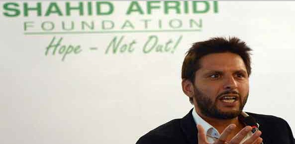 Shahid Afridi Foundation - Top NGO in Pakistan