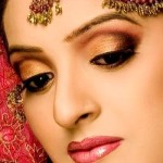 Pakistani Smokey eye makeup
