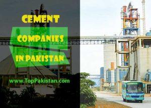 Top 10 Cement Companies In Pakistan