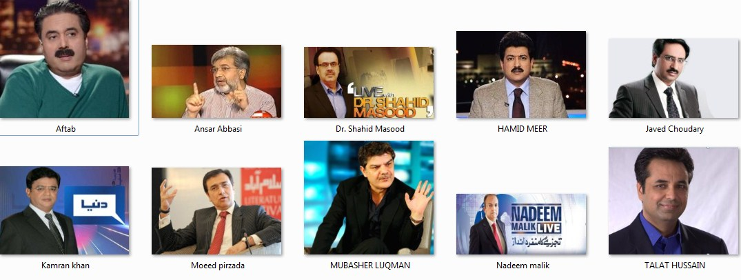 Top 10 Pakistani Anchors