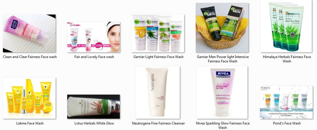 Top Ten Face Wash Brands in Pakistan