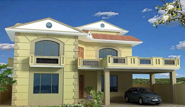 Front Elevation House Balcony : House designs top ten home in pakistan