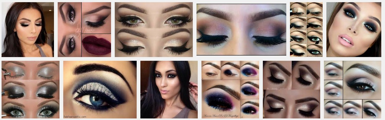 Elegant And Sophisticated Smokey Eye Makeup in Pakistan