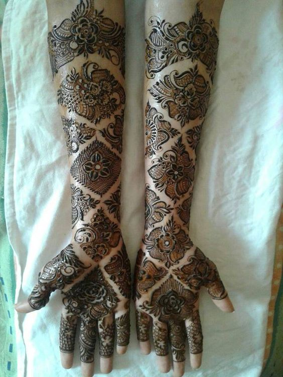 Amazing Arabic Mehndi Designs 2017 New Style  Top Pakistan