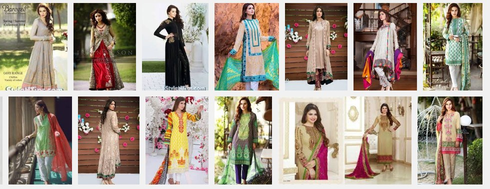 Embroidered and Stylish Eid dresses 2016 Lawn