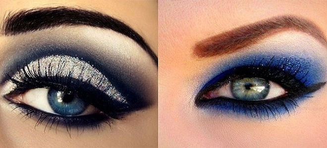 makeup-for-blue-eyes-with-somkey-gold