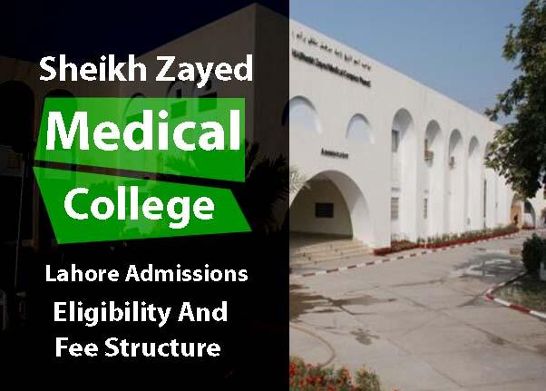 Sheikh Khalifa Bin Zayed Medical College Lahore