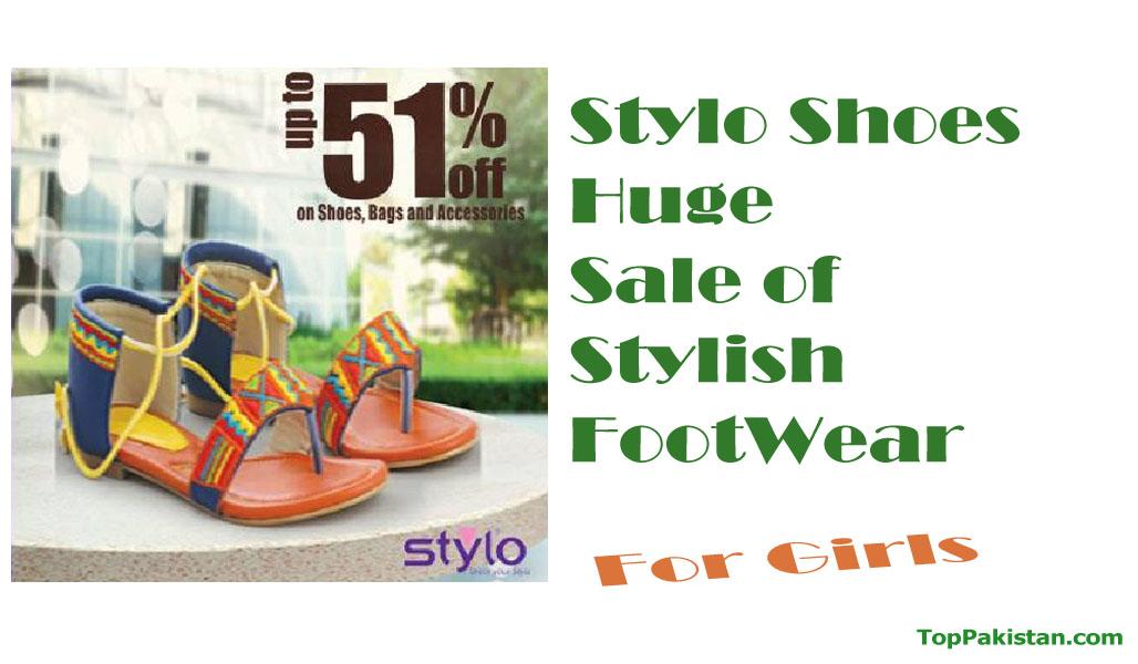 Stylo Shoes Huge Sale of Stylish FootWear 2016/17
