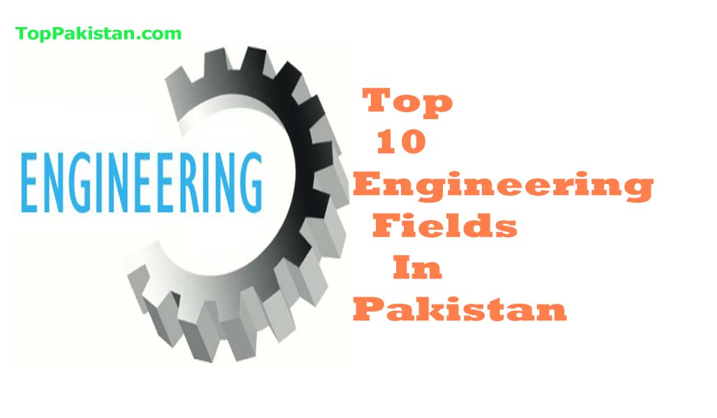 Top 10 Engineering Fields In Pakistan