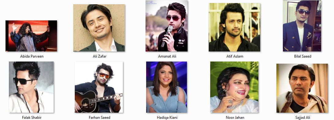 Top 10 Singers of Pakistan