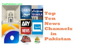 Top Ten News channels in Pakistan