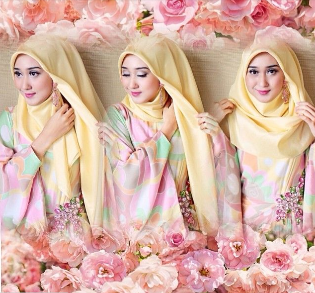 Amazing Tutorial For Dian Pelangi Hijab Styles - Top Pakistan