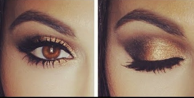 black-and-smokey-eye