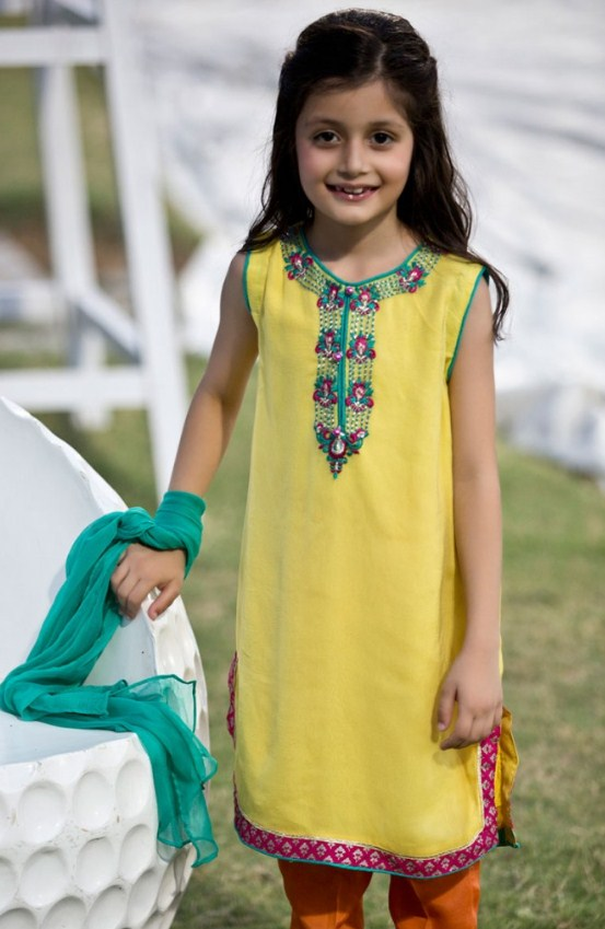 17926428d5 Dresses Collection for Baby Girls 2019 - Top Pakistan