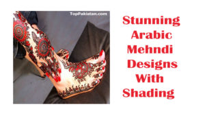 Amazing And Stunning Arabic Mehndi Designs With Shading