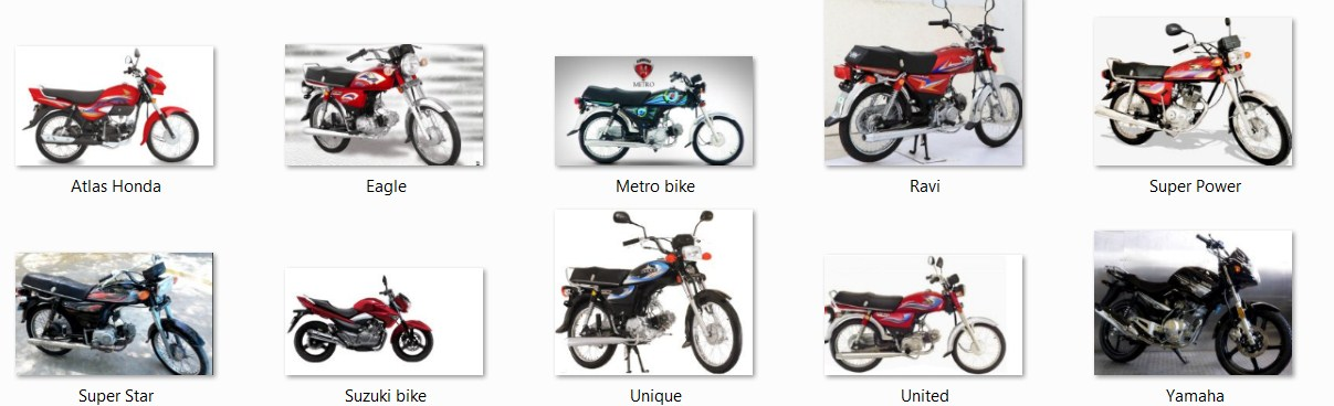 Top 10 Bikes of Pakistan