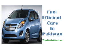 Top fuel efficient cars in Pakistan