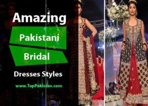 Amazing And Stunning Pakistani Bridal dresses