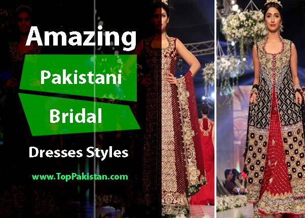 Amazing And Stunning Pakistani Bridal dresses