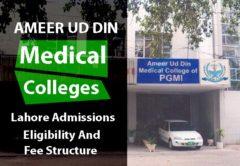 Ameer ud Din Medical College Lahore