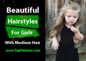Beautiful Hairstyles For Girls With Medium Hair