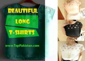 Pretty and Beautiful Long T-shirts For Women