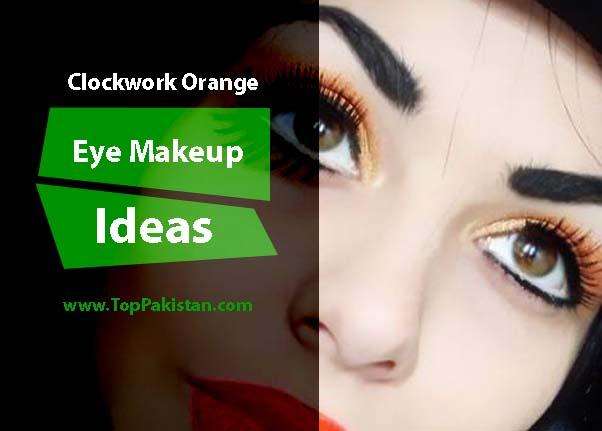 Impressive Clockwork Orange Eye Makeup Ideas
