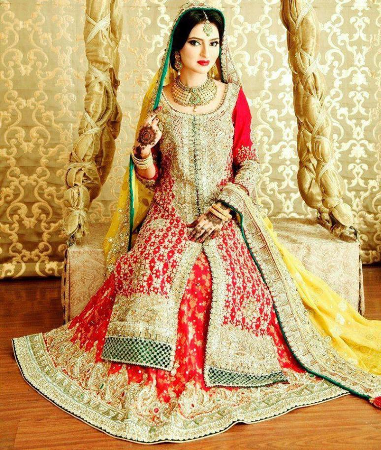 Amazing And Stunning Pakistani Bridal dresses   Top Pakistan