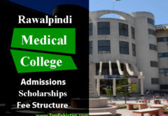 Rawalpindi Medical College Admissions and Scholarships
