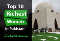Richest women in Pakistan