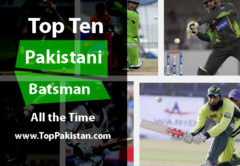 Top Ten Pakistani Batsman