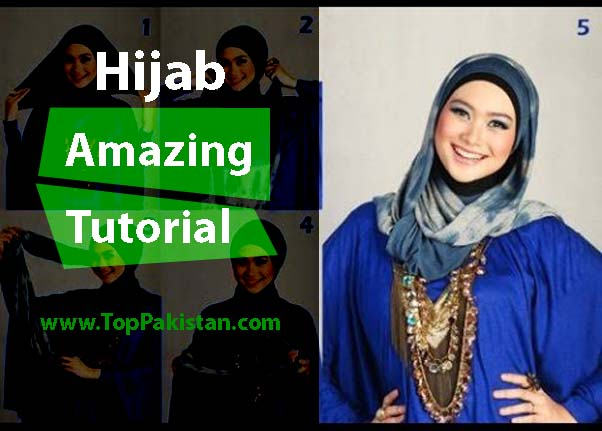 Amazing Tutorial To Wrap Hijab Around Round Faces