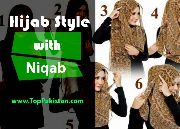 Latest Hijab Style with Niqab