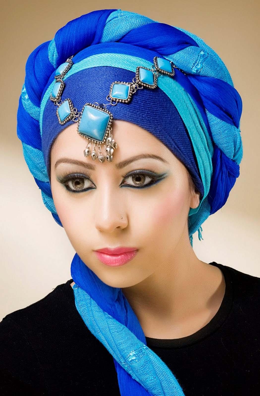 Amazing Tutorial To Wrap Hijab Around Round Faces Top
