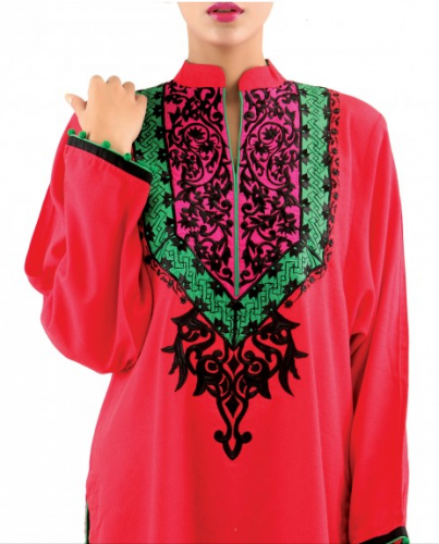 red-sindhi-embroidery-dresses-designs