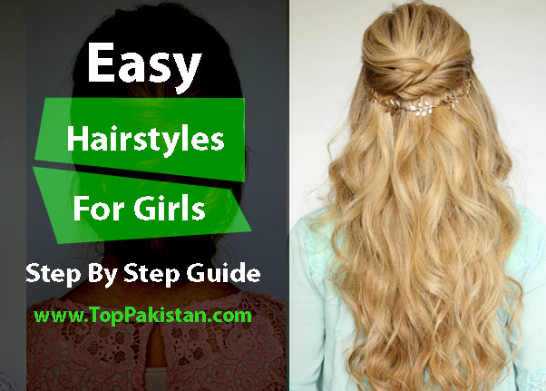 Easy Hairstyles To Do At Home Step By Guide