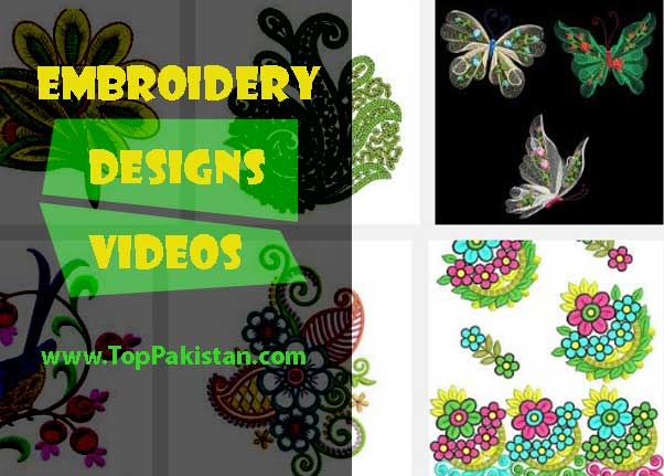 Best Three Embroidery Designs Videos By Hand
