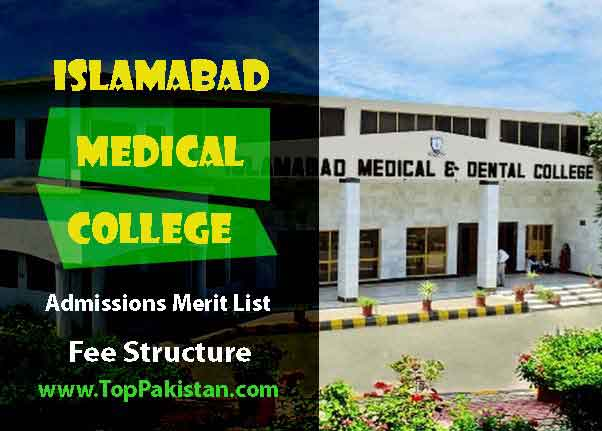 Islamabad Medical and Dental College Admissions And Fee Structure