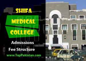 Shifa Medical College Islamabad Admissions And Fee Structure